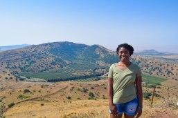Golan Heights at the Israeli/Syrian Border.